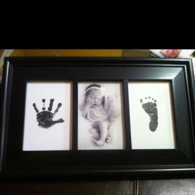 baby foot prints