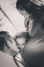 Big sister and parents