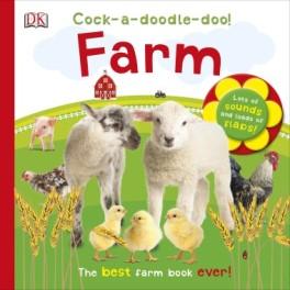 Cock a doodle doo! Farm book