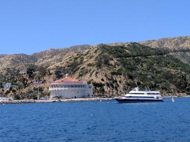 Llegando a la Isla Catalina
